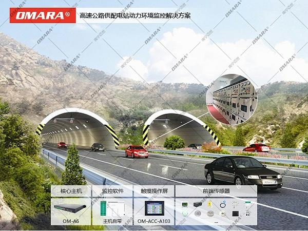 高速公路供配电站动力环境监控解决方案
